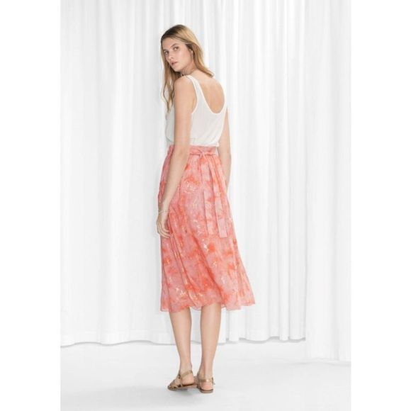 & Other Stories Dresses & Skirts - 🆕& Other Stories x TOMS Silk Skirt 6
